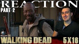 The Walking Dead S05E16 'Conquer' Reaction / Review - PART 2
