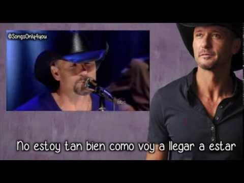 Better Than I Used To Be - Tim McGraw (Traducida al Español)