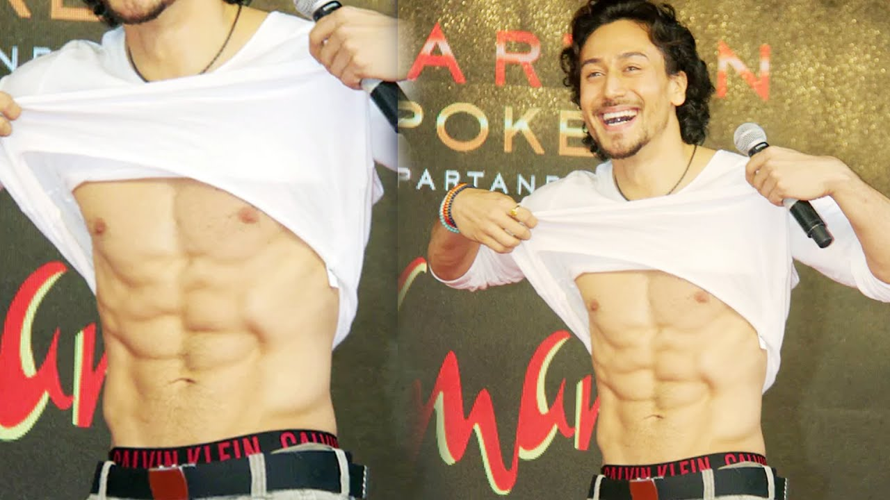 All Bollywood Girl Wallpaper Girls Go Crazy Over Tiger Shroff S Six Pack Abs A Flying