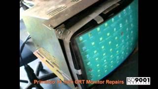 Primelco 14 inch CRT Monitor Repairs @ Advanced Micro Services Pvt. Ltd,Bangalore,India