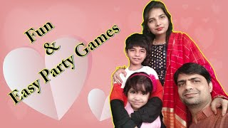 Fun and Easy Party Games | FunWithAnaghAadriti