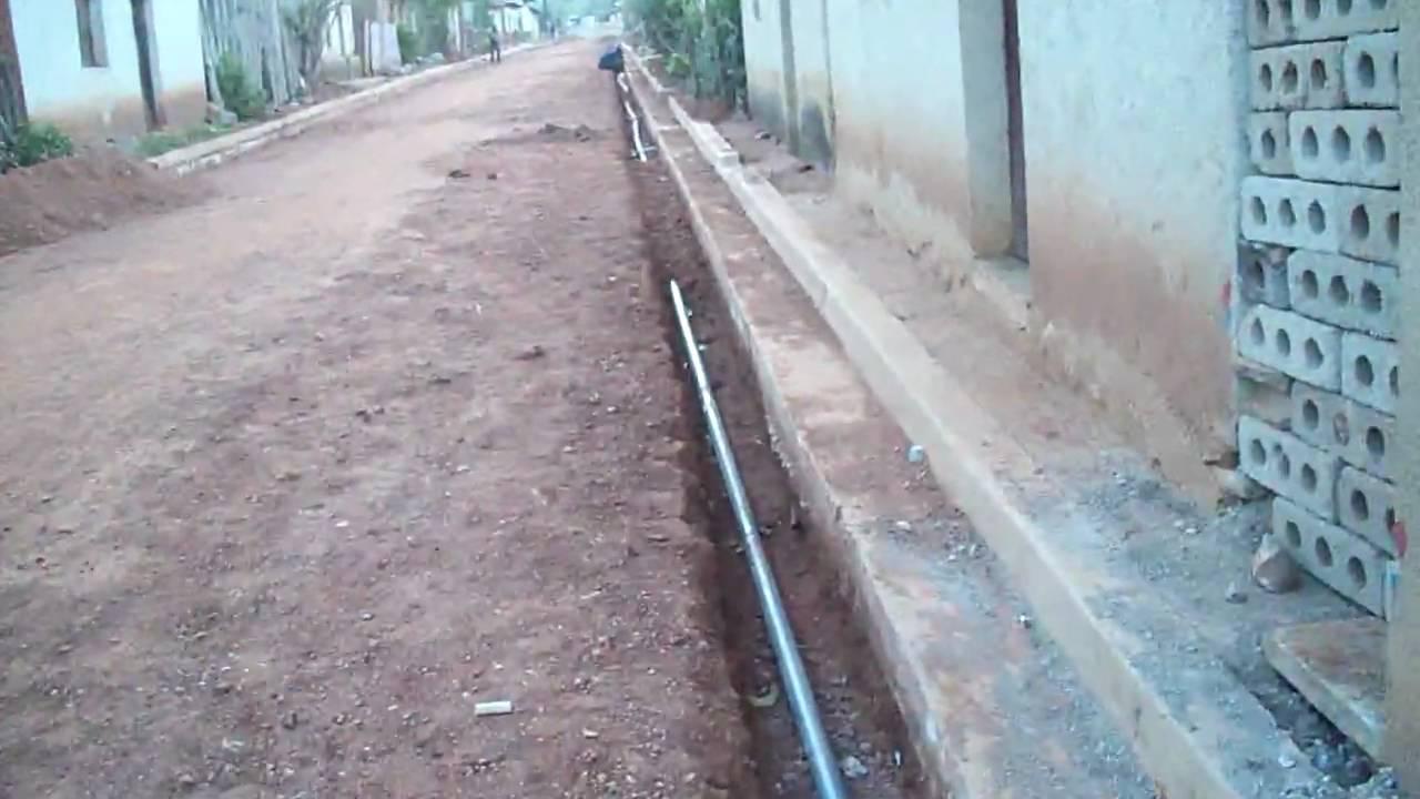 Adoquinado de calle y reparaci n de tuberias de agua - Tuberias para agua potable ...
