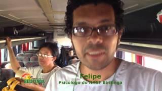 Felipe Lobo Psicologo do NASF Biritinga acompanha Idosos a Quijingue para exame