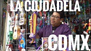 LA CIUDADELA MERCADO DE ARTESANIAS EN MEXICO TIANGUIS CDMX MARKET WEROWEROTV CENTRO HISTORICO