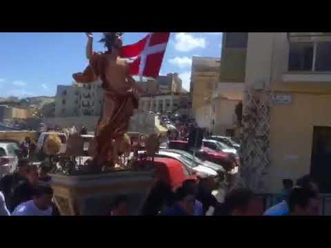 Risen Christ statue damaged during Birgu Easter Sunday run