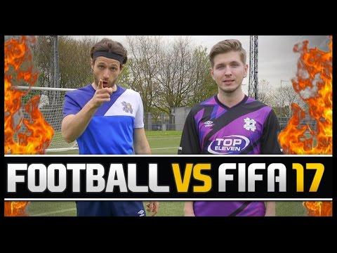 FOOTBALL VS FIFA WITH HASHTAG BORAS! (PRO FIFA PLAYER)