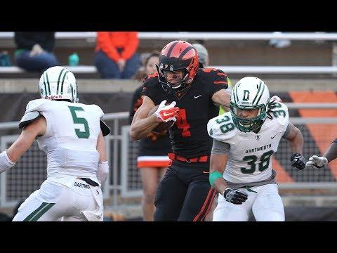 Highlights: Football vs. Dartmouth - 11/3/18