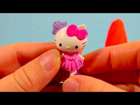 Play Doh Ice Cream Cone Surprise Toys Ice Age Shopkins Hello Kitty
