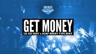 asap rocky x lil uzi vert type beat get money   xen beats