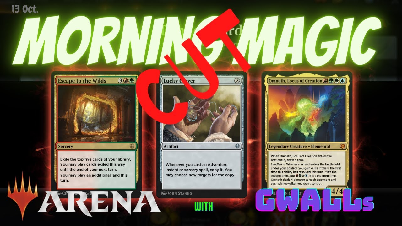 Banned Omnath And More Morning Magic With Gwalls News Jokes And Mtg Arena Youtube