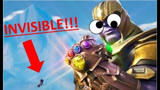 FORTNITE | ENDGAME INVISIBLE GLITCH