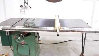 POWERMATIC Model 65 TABLE SAW