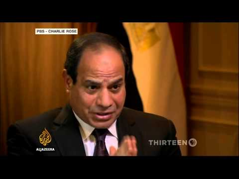Egypt's Sisi speaks out on detained Al Jazeera staff