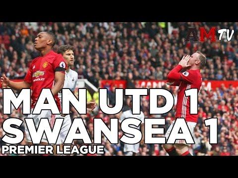Manchester United 1-1 Swansea | GOALS: Rooney, Sigurdsson