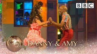Danny & Amy Samba to 'Feels Like Home' by Sigala, Fuse ODG, Sean Paul & Kent Jones - Strictly 2018
