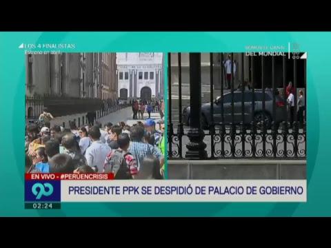 90 Mediodía (21-03-18)  Perú espera el Mensaje a la Nación de Pedro Pablo Kuczynski