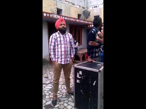 Singer and song writter jashan jagdev