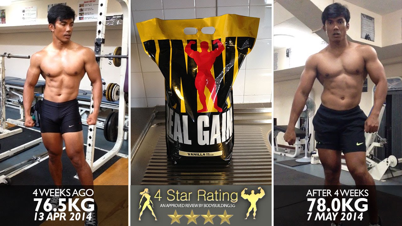 Universal Nutrition Real Gains - YouTube