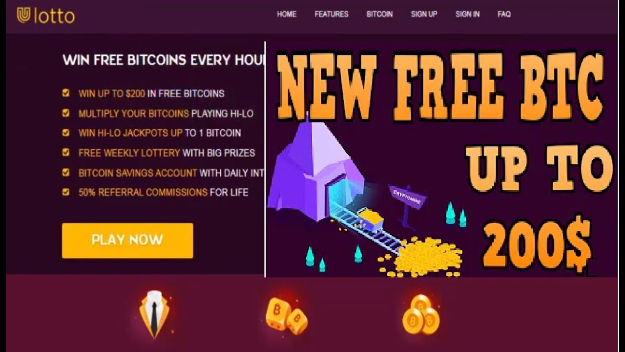 Free BTC Faucet | Earn Free Bitcoin Without Investment |Uulotto ...
