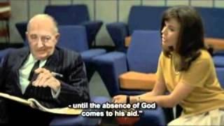 "Fritz Lang recites Hölderlin's ""Dichterberuf"" in Jean-Luc Godard's ..."
