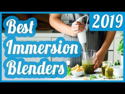 Best Immersion Blender To Buy In 2019