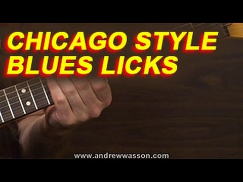 Chicago Style Blues Licks