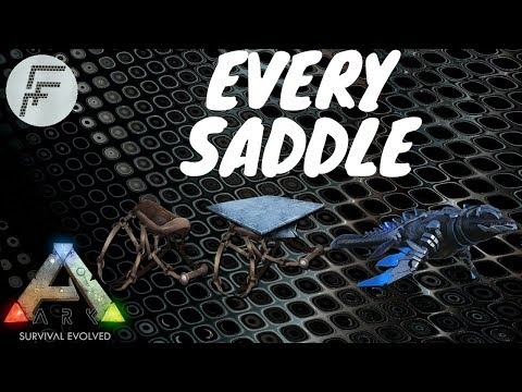 Spawn Every Saddle - ARK: Survival Evolved