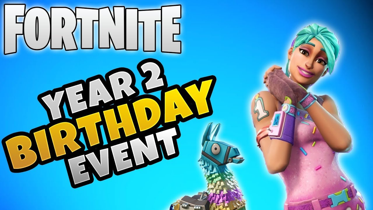 Save The World Year 2 Birthday Event Confirmed Fortnite Season 9