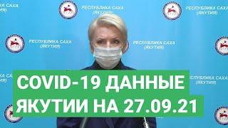 Сovid-19. Данные в Якутии на 27.09.21