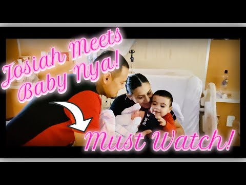 Labor & Delivery Birth Vlog.. must watch!! Josiah meeting little sister for the first time !