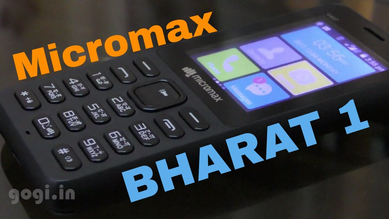 Micromax Bharat 1 review - it's better than the Reliance JioPhone
