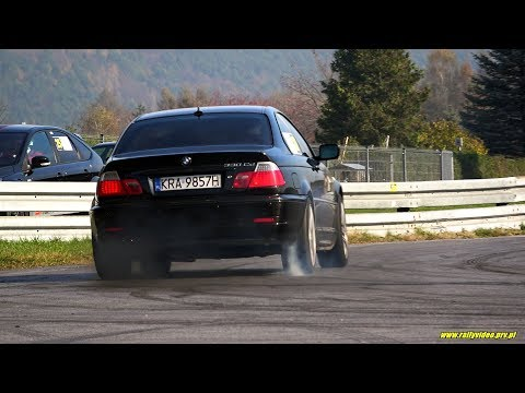 Wadowski Karol - BMW 330cd E46 - SuperOES 10 Runda  Tor Kielce 26-10-2019