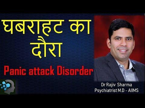 What is Panic Disorder / Neurosis - In Hindi by Dr Rajiv Sharma Psychiatrist