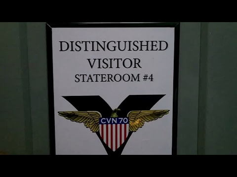 My Stateroom Tour while onboard the USS Carl Vinson CVN 70