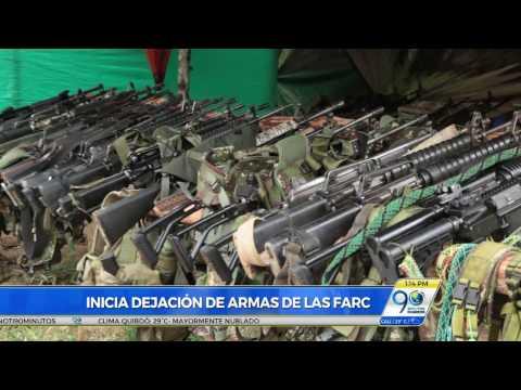 Marzo 1 2017 Día histórico en proceso de paz, comenzó primera fase de dejación de armas de las Farc