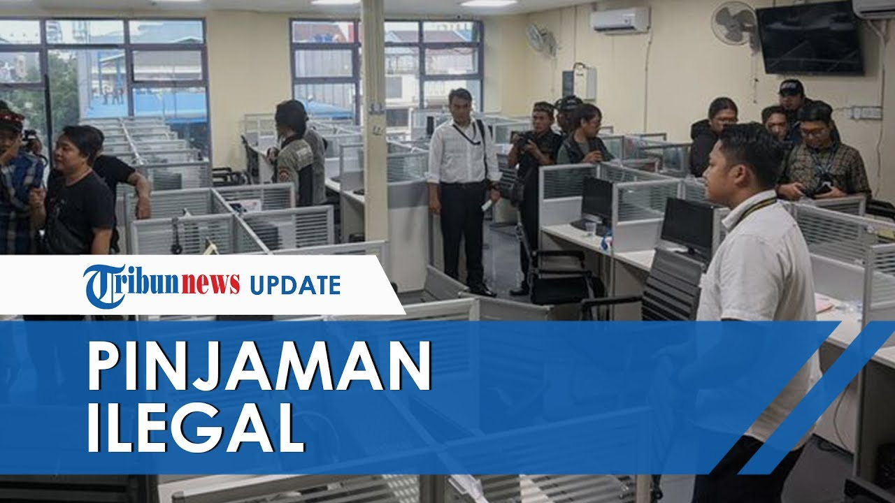 Video Detik Detik Penggerebekan Perusahaan Pinjaman Online Ilegal