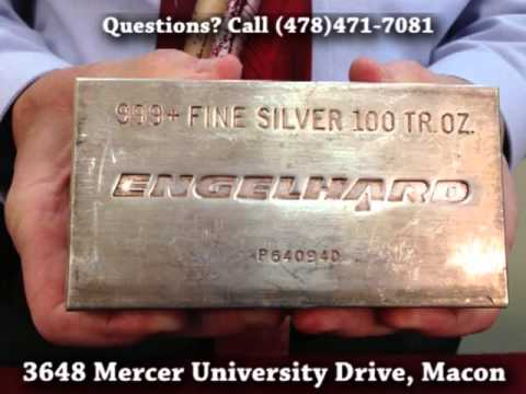 Fordham Jewelers (Macon, GA) Scrap Silver Buyers Dealers, Silverware: Silver Bullion