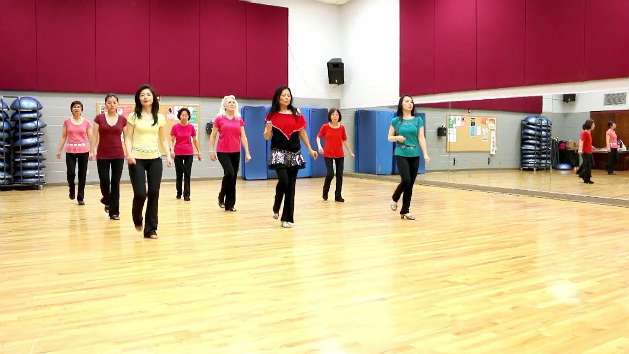 So Tied Up - Line Dance (Dance & Teach in English & 中文) - YouTube