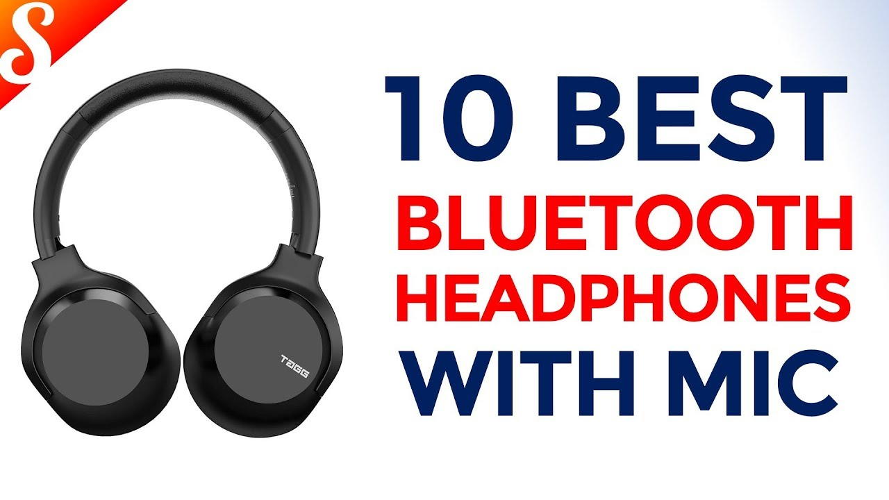 10 Best Bluetooth Headphones With Mic In India With Price Wireless Over Ear Headphones Youtube