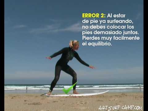 Clase de surf c mo levantarse en la tabla de surf - Dibujos para tablas de surf ...