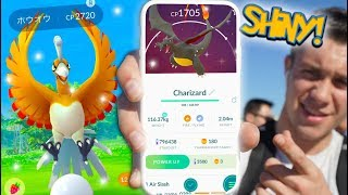 NEW SHINY HO-OH IN POKÉMON GO + SHINY CHARIZARD & CHARMANDER ARE HERE!