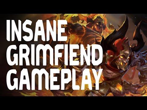 Grimfiend GamePlay + Evolution (INSANE!)