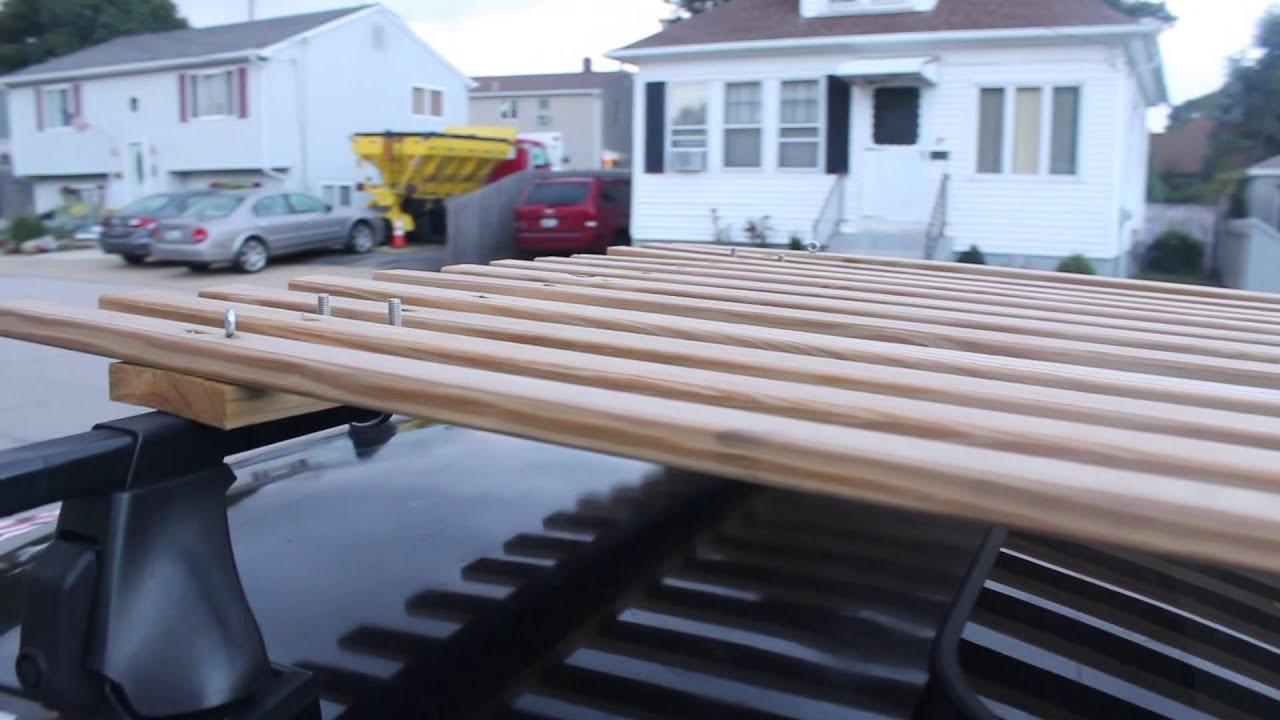 Mk4 Tdi Thule Roof Rack Youtube