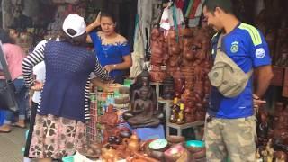 Tour Campuchia mua sắm tại chợ lớn tại thủ đô Phnôn pênh