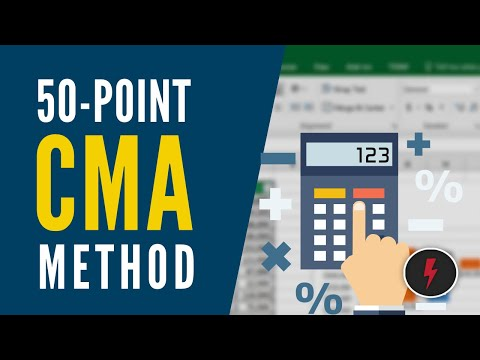 My 50-Point CMA Method (Comparative Market Analysis)