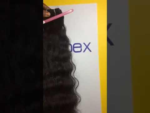 Unprocessed Natural Black Hair Bulk