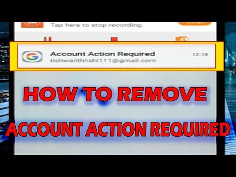 account action required