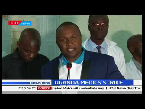 Strike called by doctors enters day two in Uganda
