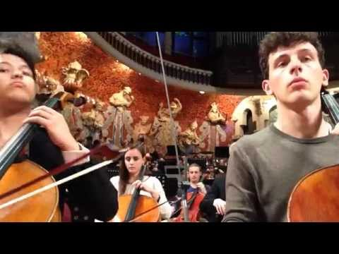 "Beginning Mahler 2 ""Resurrection"" by the GMJO's Cellos"
