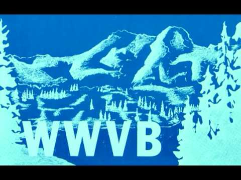 The Sound of WWVB (60 kHz)
